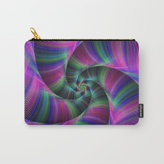 Spiral tentacles Carry-All Pouch