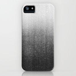 BLUR / abyss / black iPhone Case