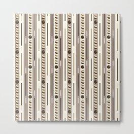 Chocolate Cookie Sticks Vertical Metal Print