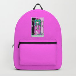 2. The High Priestess- Neon Dreams Tarot Backpack