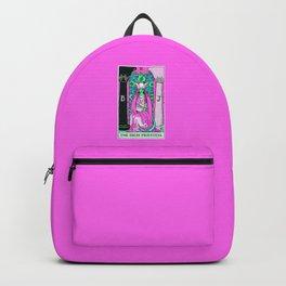 2. The High Priestess- Neon Dreams Tarot Backpack