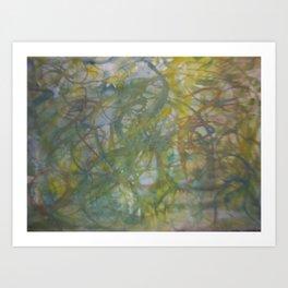 lines number 6 Art Print