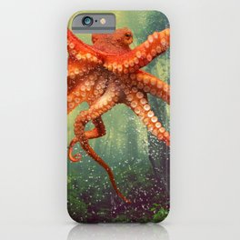 Octo Forest iPhone Case