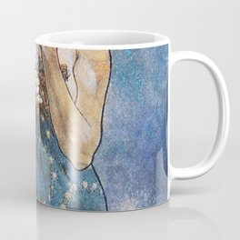 Alphonse Mucha Moonlight Art Nouveau Coffee Mug