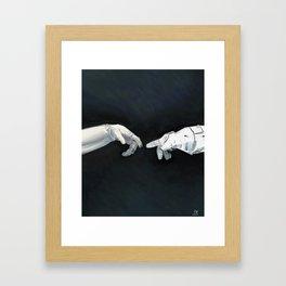 Cosmic Touch Framed Art Print