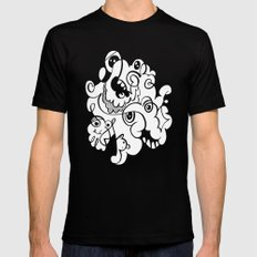 Doodle of the day – inverted version Black Mens Fitted Tee MEDIUM