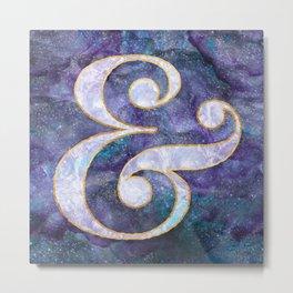 Mystical Ampersand Metal Print