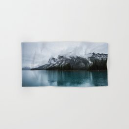Smokey Mountains Landscape Photography Alberta Hand & Bath Towel