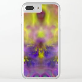 Crown by fantasy ... Clear iPhone Case
