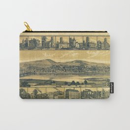 Aerial View of Towanda, Pennsylvania (1880) Carry-All Pouch