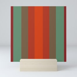 Rust Turquoise Spice 2 - Color Therapy Mini Art Print