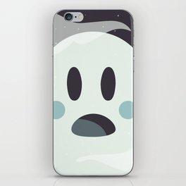 Surprised Ghosty iPhone Skin