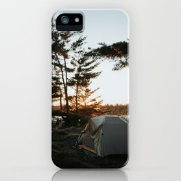 Camp Vibes iPhone Case
