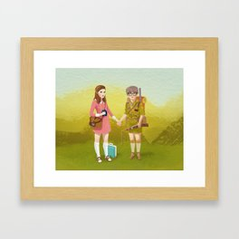 Moonrise Kingdom (Landscape edition) Framed Art Print