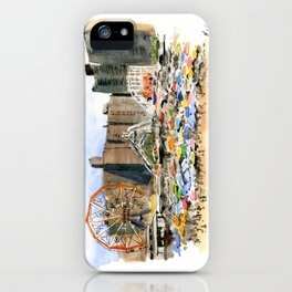 Coney Island on the Fourth of July iPhone Case