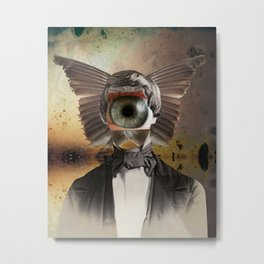 Mr. Insomnia Metal Print