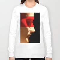 napoleon Long Sleeve T-shirts featuring Silent Napoleon by Xbird