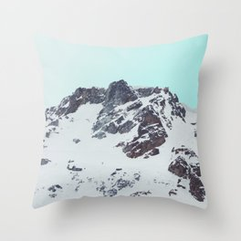 Canadian mountain scene #society6 #decor #buyart Throw Pillow