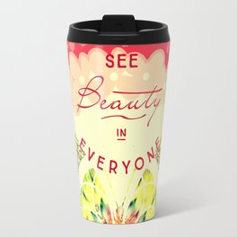 Adorable cheery butterfly graphic Travel Mug