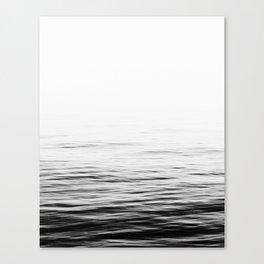 Sea, Ocean, Water, Nature, Scandinavian, Minimal, Trendy decor, Wall art Art Print Canvas Print