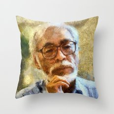 birthday tribute to the inspirational human Throw Pillow