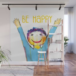 Litlle boy Wall Mural