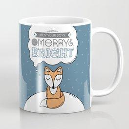 Fox Christmas Coffee Mug