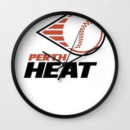 Perth Heat Wall Clock
