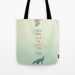 Six of Crows - I have been made to protect you Tote Bag