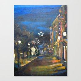 Christmas in Baden Baden Canvas Print