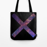 lee pace Tote Bags featuring X-pace by MaNia Creations