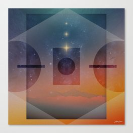 ∆ Sights of Self Canvas Print