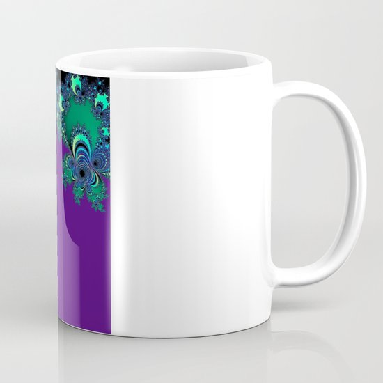 Asymmetrical Fractal 218 Mug