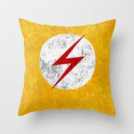 Kid Flash Throw Pillow