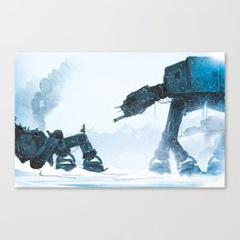 Out for a stroll... Canvas Print