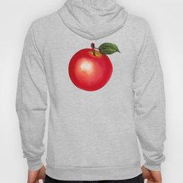 Apple Pattern - Black Hoody