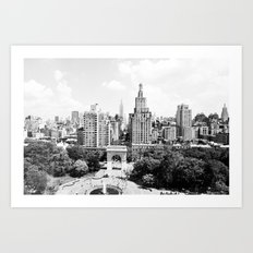 View from NYU's Student Center Art Print