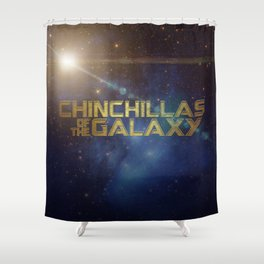 Chinchillas of the Galaxy Shower Curtain