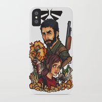 the last of us iPhone & iPod Cases featuring The Last of Us by Warbunny