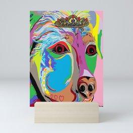 Lady Rottweiler Mini Art Print