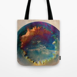Awaiting Discovery Tote Bag