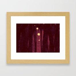 """Nightsong Sanctuary"", Digital Painting // Fine Art Print Framed Art Print"