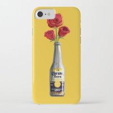 Dudes Love Roses (Yellow) iPhone 7 Slim Case