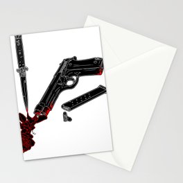 Guns and Posers Stationery Cards