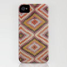 Ikat Rug 4 Multi Slim Case iPhone (4, 4s)