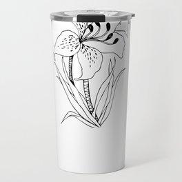 Lillies - Ink Serie Travel Mug