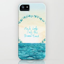 High Lady of the Summer Court iPhone Case