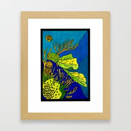Sea Salad Framed Art Print