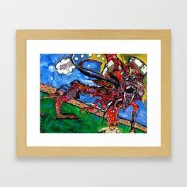Arrrrr Framed Art Print