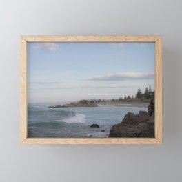 View to Shore Framed Mini Art Print